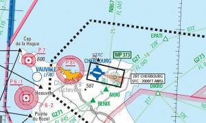 Evolution espace aérien du Cotentin